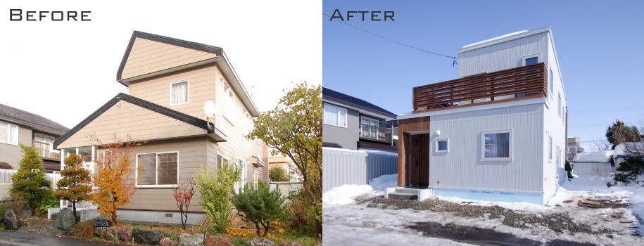 リノベーション事例:札幌市北区KB様邸