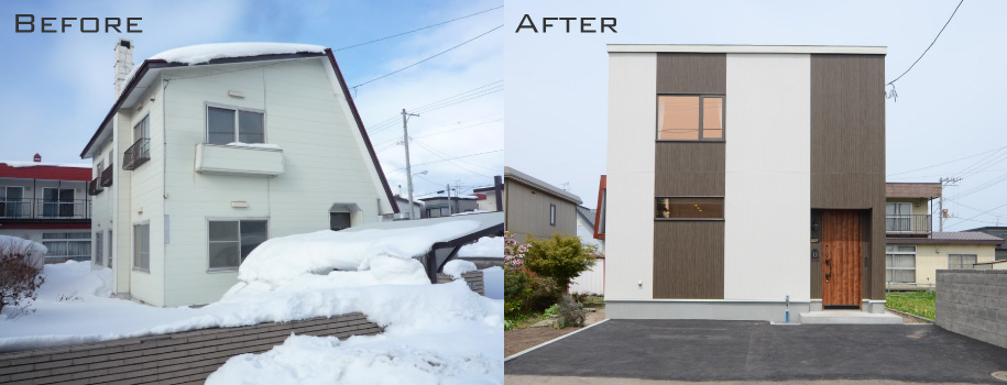 リノベーション事例:札幌市北区A様邸