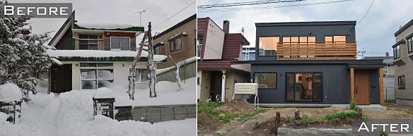 北区新琴似の中古住宅+リノベーション