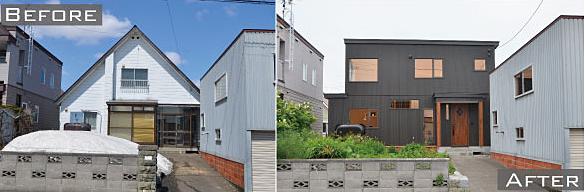 江別市の中古住宅+リノベーション
