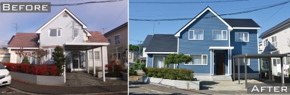 北区あいの里の中古住宅+リノベーション