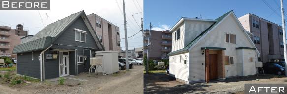 東札幌の中古住宅リノベーション