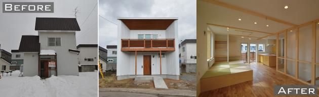 清田区北野の中古住宅リノベーション